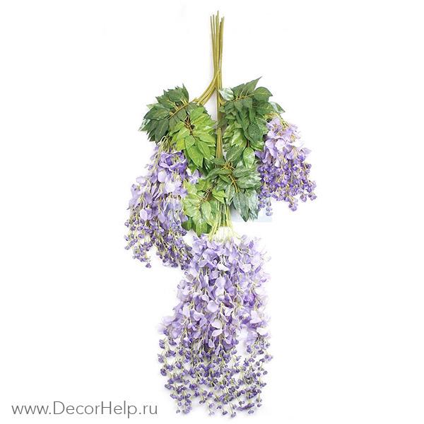 Глициния искусственные цветы оптом