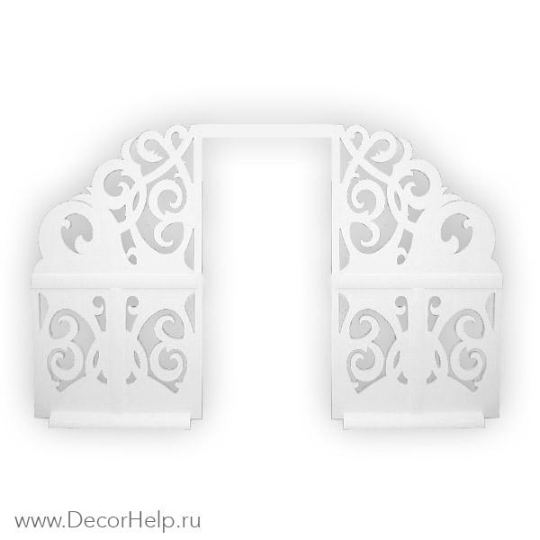 Ажурная свадебная арка купить