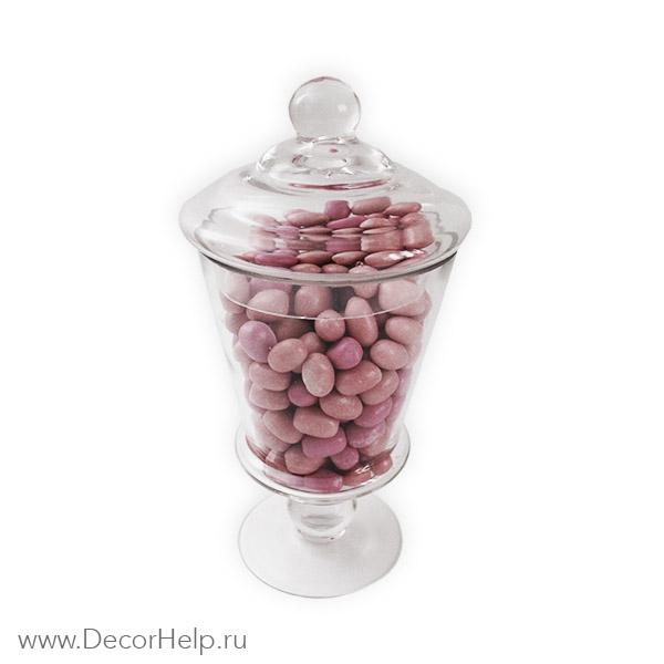 Ваза конфетница с крышкой candy bufet